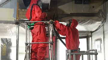 Asbestos Removal works in Birmingham - Old WHSmith Building