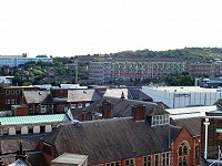 View from the rooftop of Sheffield City Centre