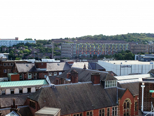 Asbestos Removal works in Sheffield City Centre - Fargate